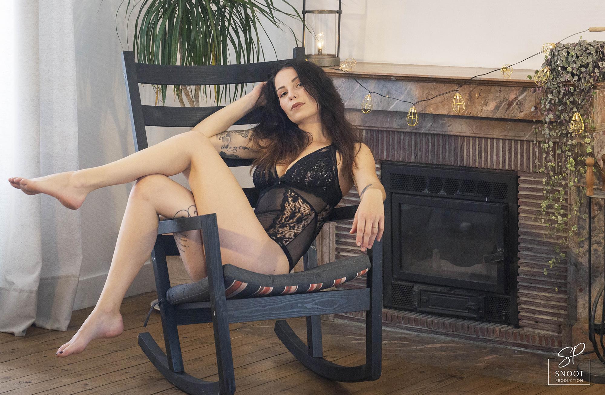 Modèle lingerie photos